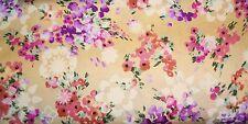 Hoffman Autumn Mist #J7044 Peach Floral Quilt Fabric