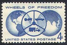 USA 1960 Transport/Car/Tractor/Truck/Motoring 1v n29223