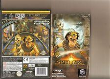 Sphinx et maudite momie RARE NINTENDO GAMECUBE/WII