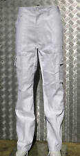 "White Military Style Combat Cargo / Utility / Field Trousers Size 22""-26"" - NEW"