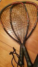 Set Of Two Head Metallix Mx Fire Racquetball Racquet 35/8