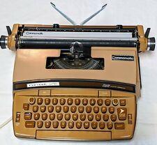 VTG Smith Corona Coronet Super 12 Electric Portable Typewriter & Case plus Keys