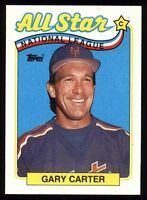Lot Of 40 1989 Topps Baseball Gary Carter NL All-Star Card # 393 New York Mets