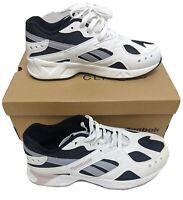 Reebok Aztrek Mens US 8 UK 7 Running Shoes Sneakers Black White Lilac New DV4084