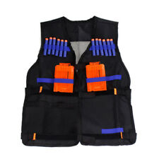 1* Tactical Vest Child Toys Gun Clip Jacket Bullet Holder For Nerf N-strike UK