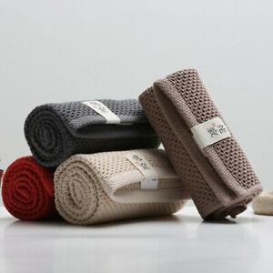 100% Cotton Soft Absorbent Honeycomb Hand Face Towel Bathroom Hotel Supplies