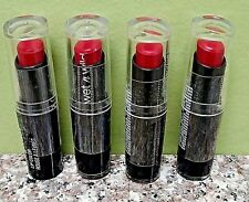 4 Pcs ! Wet N Wild Megalast # 906D Wine Room Matte Lipstick Lip Color Sealed