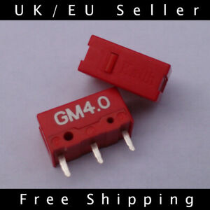 2x Genuine Kailh GM 4.0 Red Mouse Micro Switches