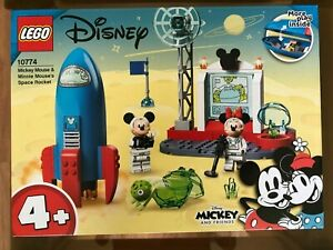 LEGO 10774 Disney Mickey & Minnie Mouse's Space Rocket age 4 +~ Brand NEW ~