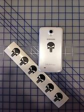 "6 PUNISHER AMERICAN SNIPER SKULL CELL PHONE iPOD DIE CUT DECAL STICKER 1.5""x 1"""