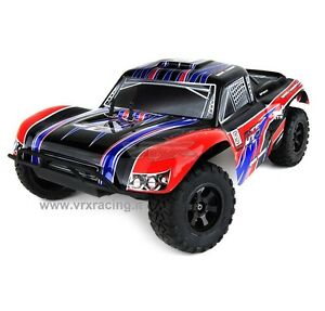 DT5 EBD COURSE TRUCK VRX ELETTRICO RC-550 TURBO SPEED RADIO 2.4gHz 1/10 RTR 4WD
