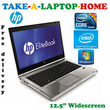 Comes Boxed - HP Elitebook Gaming Laptop - Intel HD 3000 - i5 - 4Gb - SSD - Win7