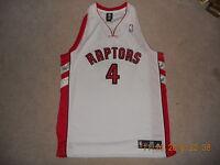 Toronto Raptors NBA Basketball Jersey Adidas Authentics #4 Chris Bosh 48 Home Wt