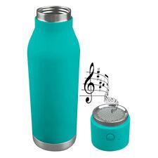 Asobu Double Walled  Cold Hot Water Beverage Bottle Bluetooth Speaker #BT60TEAL