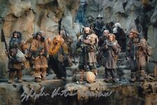 Stephen Hunter SIGNED AUTOGRAFO 20x30cm Lord Rings in persona Autograph Hobbit