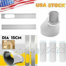 Window Slide Plate 15cm Window Adaptor Exhaust Hose Kit For Air Conditioner Part