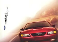 1999 Ford Mustang GT Coupe Convertible Deluxe Dealer Sales Brochure - Mint!