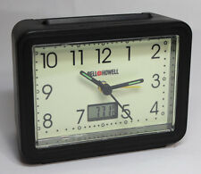 BELL & HOWELL Battery Op Travel Alarm Clock with Digital Temperature Reading