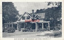1941 PAWLING NY GREEN MOUNTAIN LAKE FARMS Main Building, Eagle, to Mrs. A. Liss