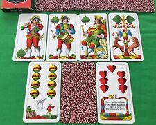 Vintage PIATNIK Non Standard Nr.31 SALZBURGER Playing Cards Spielkarten Cartes