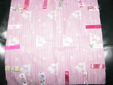 BAMBI PERSONALISED BABY GIRLS TAG BLANKETS : GREAT GIFT :