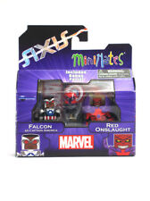 Marvel Minimates Falcon As Captain America & Red Onslaught Series 62 Axis New