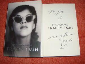"SIGNED BY TRACEY EMIN  ""STRANGELAND""    (HB)"
