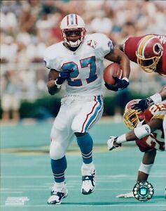 Eddie George Houston Oilers NFL Licensed Unsigned Glossy 8x10 Photo C