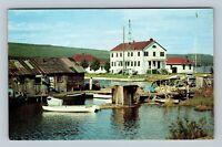 Grand Marais MN, View Of Gateway, Chrome Minnesota Postcard