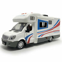 1:32 Camper Van Motorhome Touring Car Model Diecast Gift Toy Vehicle Kids White