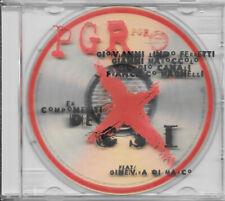 PGR PER GRAZIA RICEVUTA (EX CSI) CD ENHANCED OMONIMO 2002 MERCURY 586 865-2 RARO