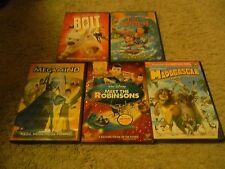 BOLT/LILO & STITCH/MEGAMIND/MEET ROBINSONS/MADAGASCAR, DVDS, 5-DISC SET