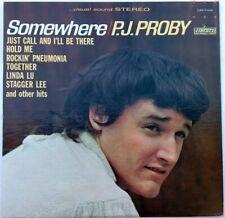 P.J. Proby - Somewhere (LP, Album)