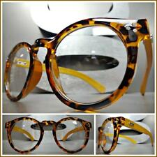 5a544694e1 Men s CLASSIC VINTAGE RETRO Style Clear Lens EYE GLASSES Real Wood Wooden  Frame