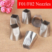 Stainless Steel Baking Mold Icing Piping Nozzles Ice Cream Tool Cake Decorating