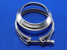 "HE351 Exhaust Flange to 3.5"" & HE351 turbo V-Band Clamp Kit"