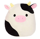 New Squishmallows hug and squeeze soft doll Connor The Cow soft toy