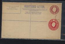 Great  Britain  double embossed postal envelope unused  1 & 3 p        KL0624