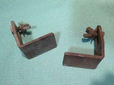 vintage 1960's craftsman grinder tool rests matched steel for luthier 1/3 1/2 hp