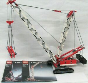 Lego ® Technic 8288 Kran Raupenkran komplett + Bauanleitung ´2006