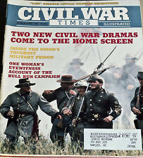 Civil War Times Mags  Lot of 5 - Year 1991 FREE SHIPPING!    Very Good Condition
