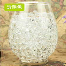 1000PCS Pearl Shaped Crystal Soil Water Beads Mud Grow Magic Balls [Clear]