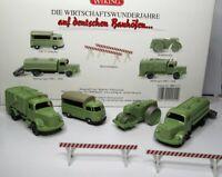 Wiking Set 1:87 Wirtschaftswunderjahre OVP 990 55 auf deutschen Bauhöfen - MB T1