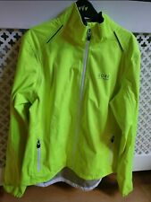 Gore Element Womens Windproof Cycling Jacket Hi-Vis Yellow