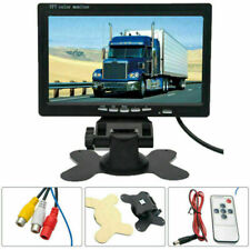 7inch TFT LCD Color Car Monitor Screen for Rear View Reverse Backup Truck Camera