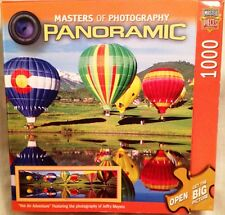 """Panoramic 1000-pc puzzle, """"Hot Air Adventure,"""" 2010, Jeffry Meyers photography"""