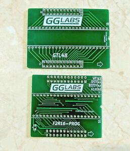 GGLABS F2R16-PROG/GTL48 PCB bundle - Read/Write GGLABS F2R16 ROM emulator Amiga