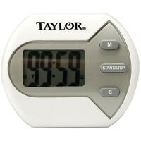 TAYLOR PRECISION 5806 Digital Timer,with Clip/magnet/stand,Water resistant