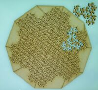 Impossible Jigsaw Puzzle, Shapes MDF 3mm 31 pieces