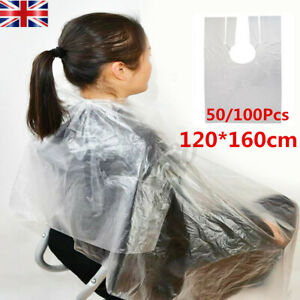 Large Disposable Barber Gown Cloth Hair Cutting Cape Cloak Hairdressing Salon